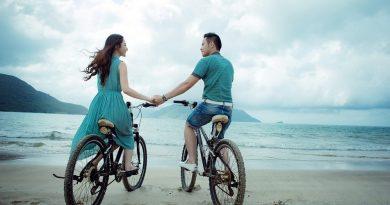 Une lune de miel en vélo et à la plage