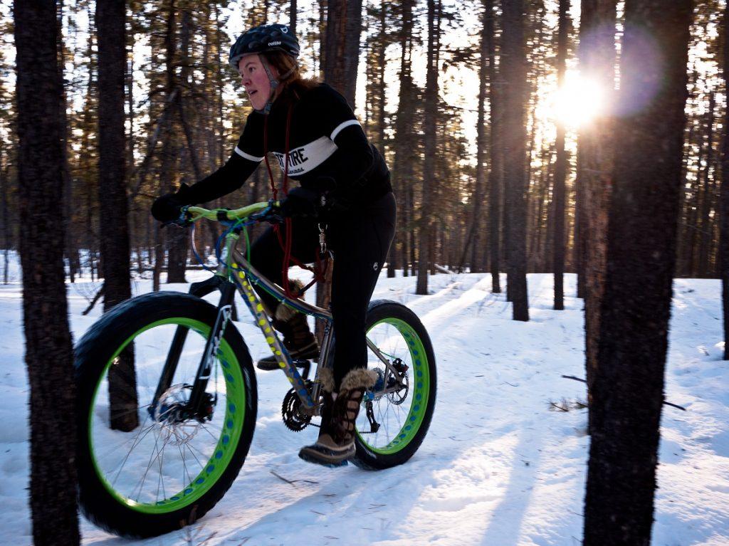 Quel sport pour l'hiver ? Exemple de FatBike